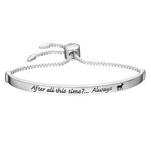 "NIB! Harry Potter ""Always"" Silver Plated Bracelet"